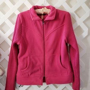 Ladies Pink Effeci Pink Jacket  Size M